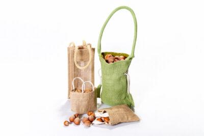 Jutové dárkové tašky MINI