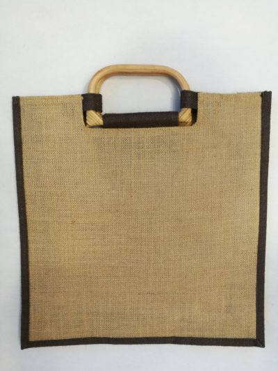 Jutová taška s rukojetí
