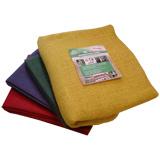Jutová tkanina 211 g / m<sup>2</sup> - plachetky barevné