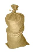 Jutové pytle 110 x 60 cm