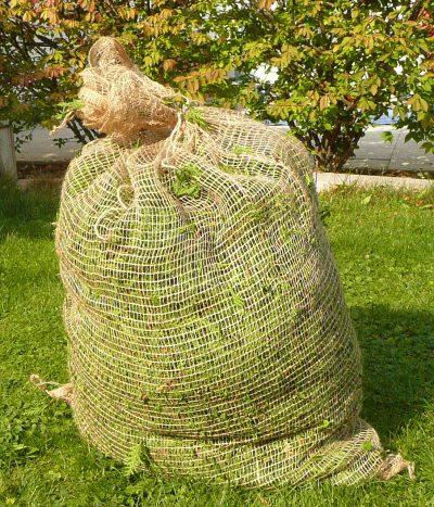 Jutové pytle na listí 100 x 70 cm